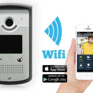 wifi door smart phone