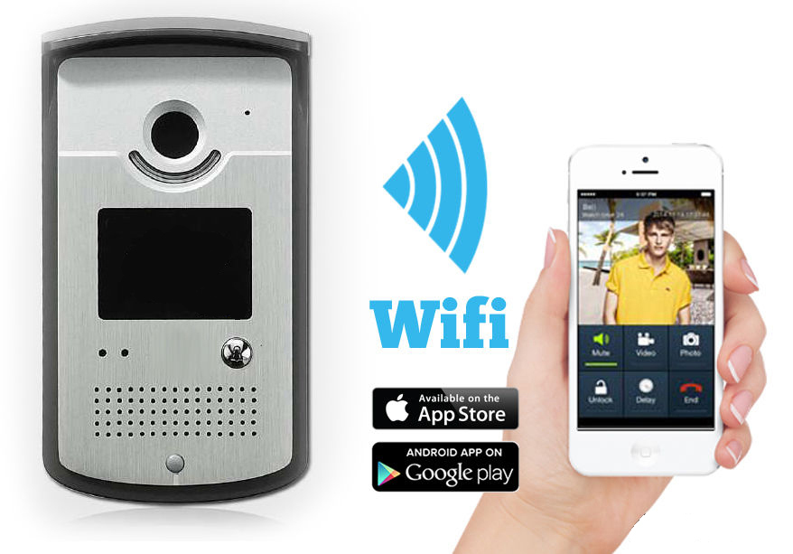wifi door smart phone